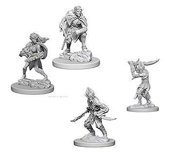 Dungeons & Dragons Nolzur s Marvelous Unpainted Miniatures Bundle  Githyanki W4 + Drow W4