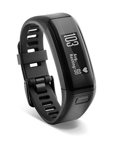 Garmin vívosmart HR Activity Tracker X-Large Fit - Black