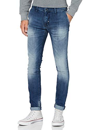Antony Morato Herren Super Mason Skinny Jeans, Blau (BLU Denim 7010), 38 (Herstellergröße: 31)