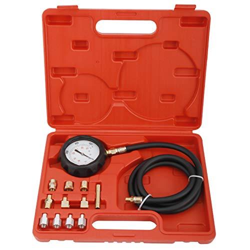 KUNTEC 0-500PSI Engine Oil Pressure Gauge Transmission Fluid Diagnostic Tester Tool Kit