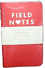 product image for Field Notes Heartbeat Limited Edition Graph Memo Books, 2-Pack (3.5x5.5-Inch)