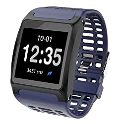 Starford Intelligence Bluetooth Health Wrist Smart Band Watch with Heart Rate Sensor Monitor/Bracelet/Activity Tracker/Smart Fitness Band/Call, Message Notification/Step Count for All Smartphones