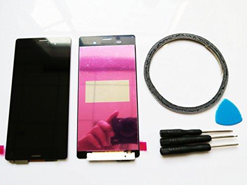 Ersatz LCD Display + Rahmen für Sony Xperia Z C6603 L36H Display+ Werkzeuge & doppelseitigen Kleber Weiß