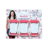 Medifit Pink & White Disposable Manual Razor For Women(6 pieces)