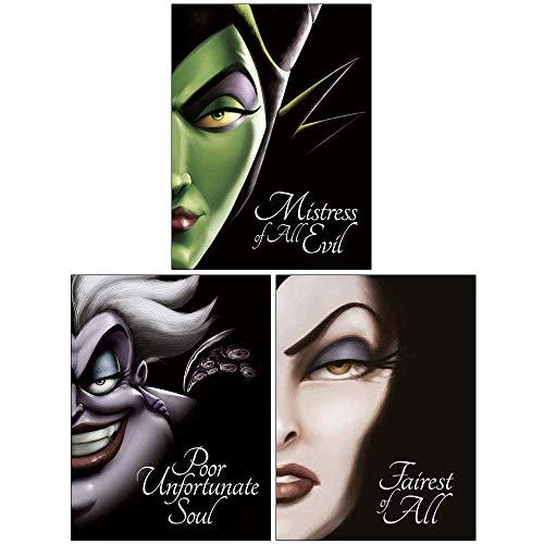 Price comparison product image Villain Tales Disney Collection 3 Books Set (Mistress of All Evil,  Poor Unfortunate Soul,  Fairest of All)