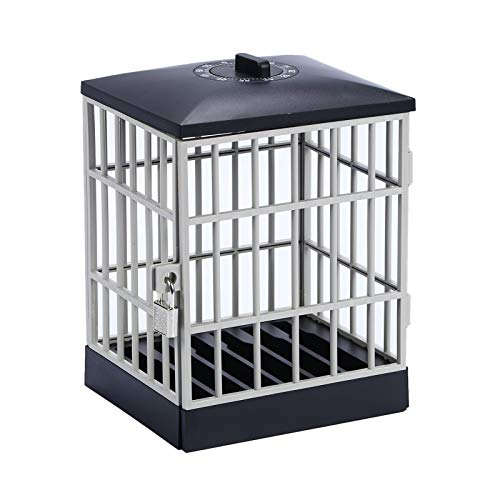 Handy Gefängnis Mit Sperre Und Schlüssel - Timer Handykäfig The Mobile Phone Jail - Um Sie Von Ihrem Handy Fernzuhalten, Lustige Geschenk