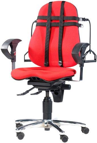 newgen medicals Fitnessgeräte fürs Büro: Fitnessgerät - Expander für den Bürostuhl (Sport im Büro Geräte)