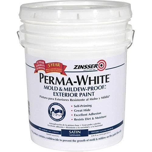 5 gal. White Semi-Gloss Water Interior/Exterior Paint