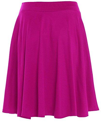 Chocolate Pickle Falda de Fiesta - de Color Cerise para Mujer de Talla 54-56