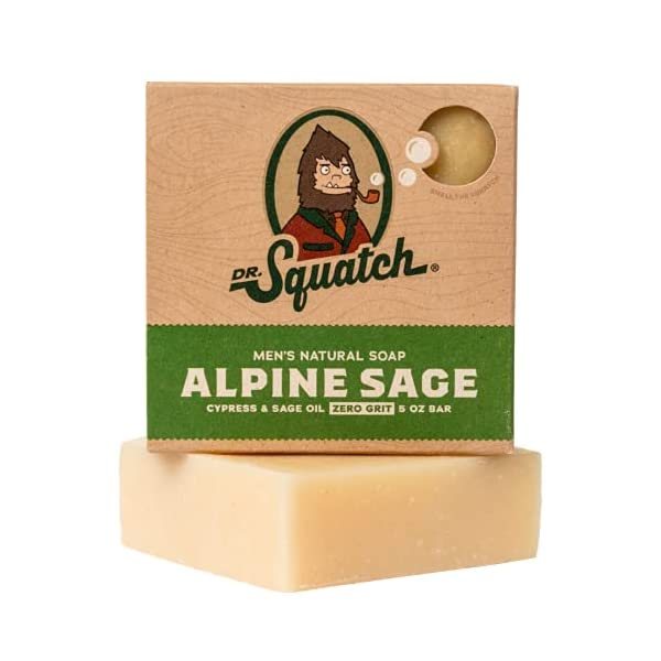 Alpine Sage Soap for Men – Revitalizing Natural Scent with Lavender, Cypress, Clary Sage Organic Oils – Bar Handmade in… 1