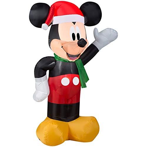 Santa Mickey Inflatable
