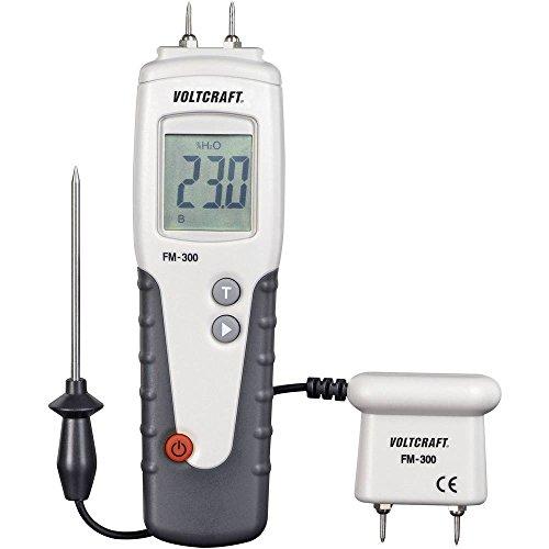 VOLTCRAFT FM-300 Materialfeuchtemessgerät Messbereich Baufeuchtigkeit (Bereich) 6 bis 99% vol Messbereich Holzfeuchtig