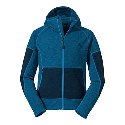 Schöffel Herren Fleece Hoody Cambrai M, leichte und atmungsaktive Fleece Jacke, warme Herren Jacke mit zwei Reißverschlusstaschen