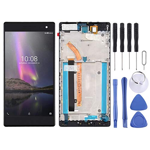 Wangl Lenovo Spare LCD Screen and Digitizer Full Assembly with Frame for Lenovo Phab2 Pro / PB2-690M / PB2-690Y Lenovo Spare (Color : Black)