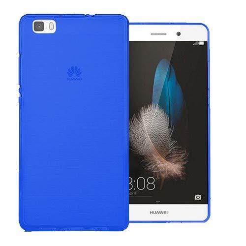 Mb Accesorios Funda Carcasa Gel Azul para Huawei P8 Lite