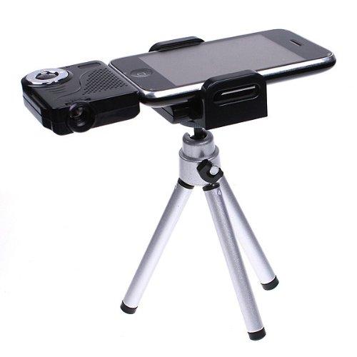 Mini Portable Multimedia Pocket Cinema Pico Projector for Ipod Iphone   Tripod