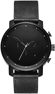 MVMT Chrono Watches | 45 MM Men's Analog Watch Chronograph | Leather Wristband