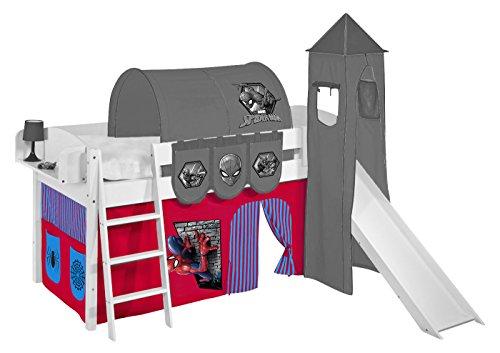 Lilokids Vorhang Spiderman - für Hochbett, Spielbett und Etagenbett