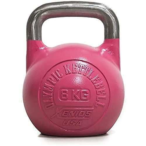 Xenios USA XSSTOKBL20, Russian Girevoy Competition Kettlebell Unisex, Viola, 20 kg