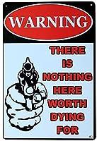 レトロおかしい金属錫サイン8 x 12インチ(20 * 30 cm)安全性ブリキ看板警告通知パブクラブカフェホームレストラン壁の装飾アートサインポスター(dg-1-26)