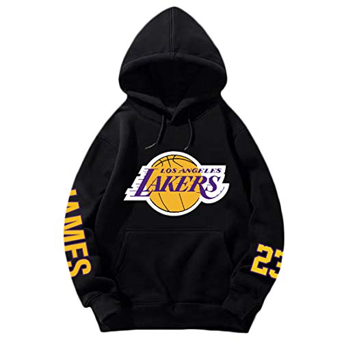 Lakers James Basketball Hoodie, l?ssiges Sweatshirt