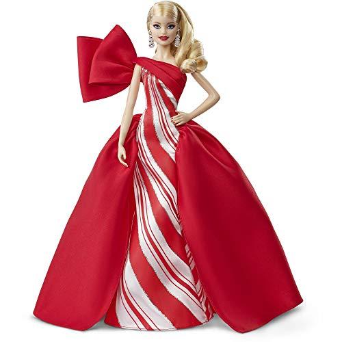 Mattel Barbie 2019 Holiday Doll, Blonde