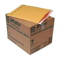 Jiffy Padded Self-Seal Mailer, #7, 14 1/4 x 20, Golden Brown, 50/Carton by ANLE [並行輸入品]