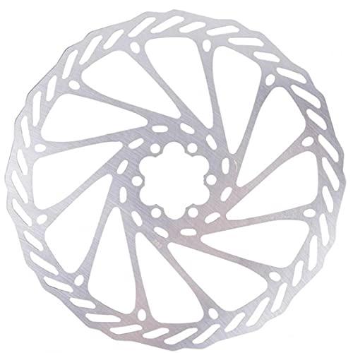 Tuimiyisou 203 Mm De Bicicletas Bicicleta del Freno De Disco De Freno De Disco Center Lock Rotores Rotores De Acero Inoxidable con 6 Pernos De Carretera Bicicleta De Montaña MTB BMX