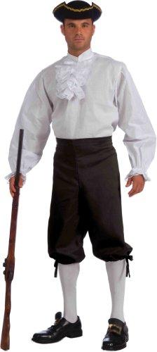Forum Novelties Ruffled Vampire Costume Shirt, White, One Size