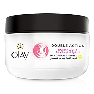 Olay Double Action Moisturiser Day Cream and Primer, 50 ml