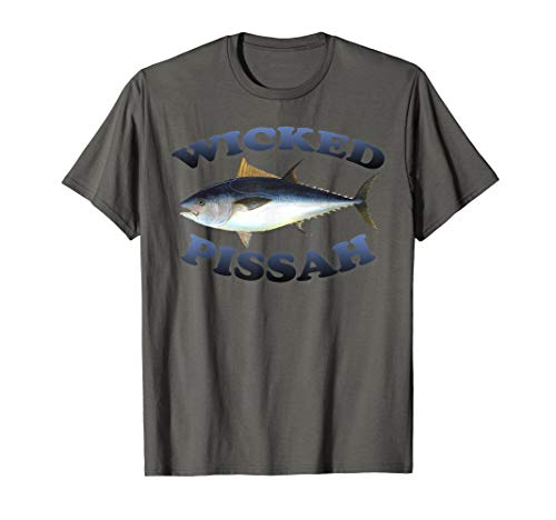 Wicked Pissah Bluefin Tuna Fish Illustration Fishing Angler