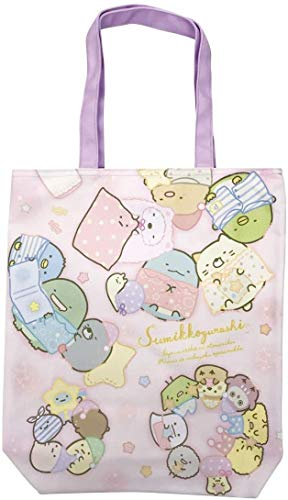 J's Planning Sumikko Gurashi tote bag Sleepover party W34 x H40 x D6cm K-1321A