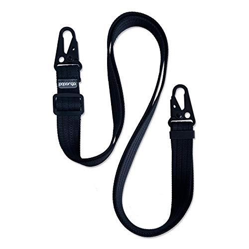 Papanga® Handykette in schwarz, ohne Hülle, universell für alle Smartphone Modelle