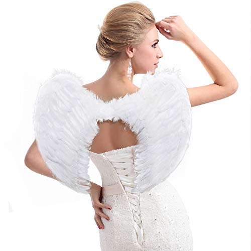 Angel Wings for Girls Adult Women, Feather Angel Costume Wings - coolthings.us