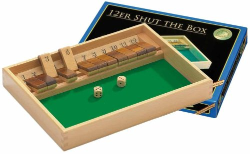 Philos 3120 - Shut The Box 12er, Würfelspiel, Klappenspiel
