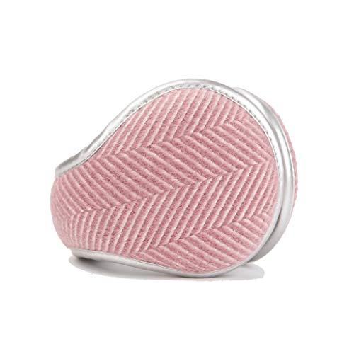 ZJ Warm halten Earmuffs Warm Earmuffs Earmuffs Mann-Winter Earmuffs Frauen im Freien Earmuffs Warm warm (Color : Pink)