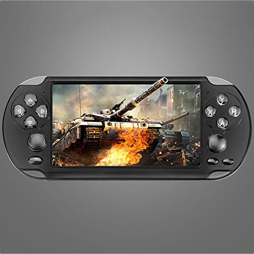 Shengruhua Handheld Game Console for Kids and Adults, 5.1Inch X9-s Double Rocker Retro Video Game Console, 10000 Classic Games, for Kids and Adults Well-Liked