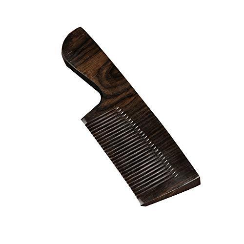 MIAOLIANG Haarkämme Natürliche Ebony Comb Schwarz Palisander Männer Kamm Massage Tragbare Tragbare Geschäfts-Geschenk Vatertag (Color : B)