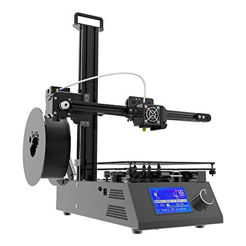 LPLHJD Imprimante 3D Tout l'aluminium et Le matel améliorés d'imprimante de la Version Tronxy X2 3D avec l'Assemblée Rapide de Filament de PLA d'ABS d'impression de lit de Chaleur