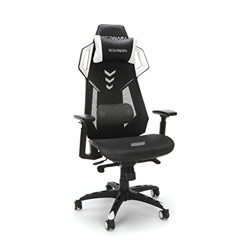 RESPAWN 300 Racing Style Gaming Chair, in White chair gaming white
