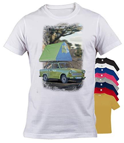 BuyPics4U T-Shirt mit Motiv Trabant Tr30 100% Baumwolle für Herren Damen Kinder viele Farben