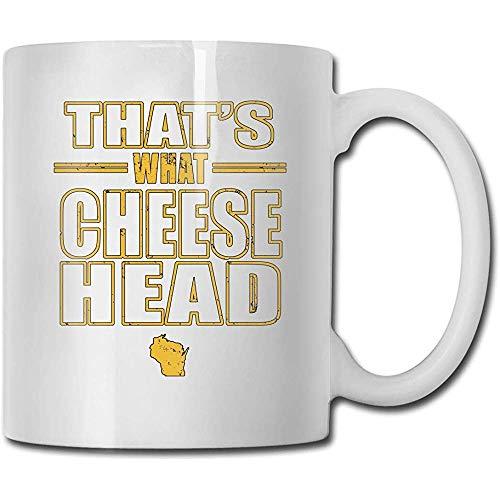 Mokken dat is wat kaas handgemaakt design grappige koffiemok thee mok cadeau voor fans man vrouw vriendin wit