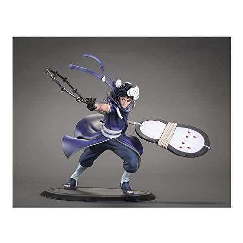 Siyushop Obito Uchiwa Naruto Shippuuden Xtra 1/10 PVC Figur - Naruto Statue Dekoration Geschenk - Ausgestattet Mit Waffen
