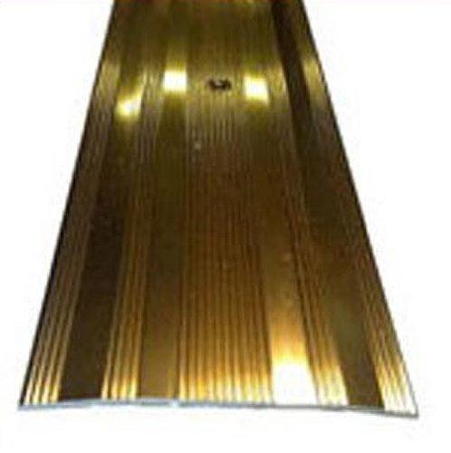 Threshold 61mm Wide Carpet Door Plate Brass Effect 3ft Length