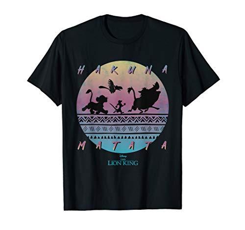 Disney The Lion King Hakuna Matata 90s Circle T-Shirt
