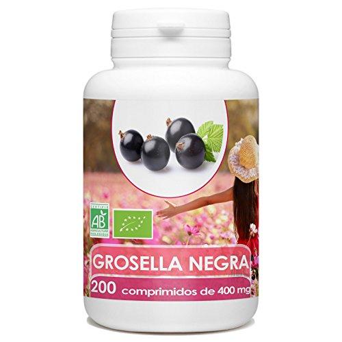 Grosella Negra Bio 400mg - 200 comprimidos