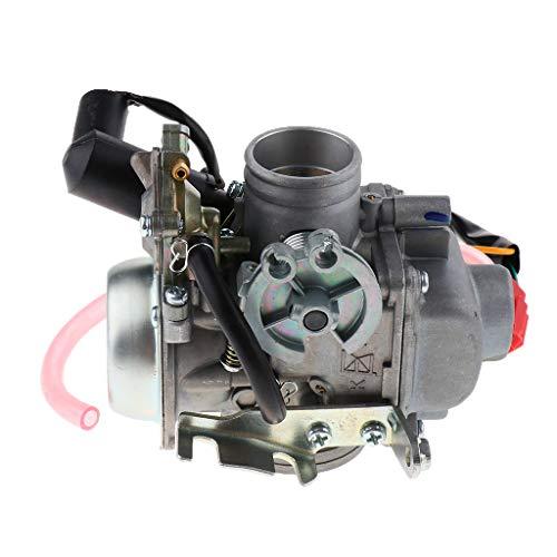 Toygogo Piezas de Repuesto para Motocicleta, Carburador, Resistencia a La Corrosión, Apto para CFMOTO GY6 250cc