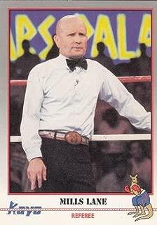 Mills Lane Trading Card (Boxing) 1991 Kayo #123 Referee