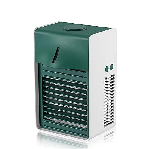 BestSiller - Condizionatore d'aria portatile, con 3 velocità, umidificatore da tavolo per stanza ufficio e cucina