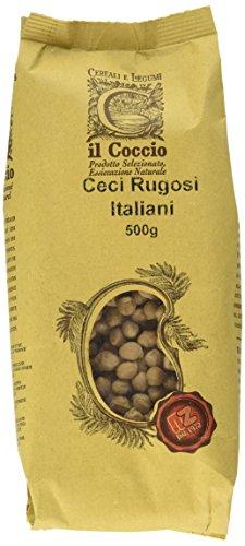 Il Coccio Ceci Rugosi Italiani - Pacco da 10 x 500 gr - Totale: 5000 gr